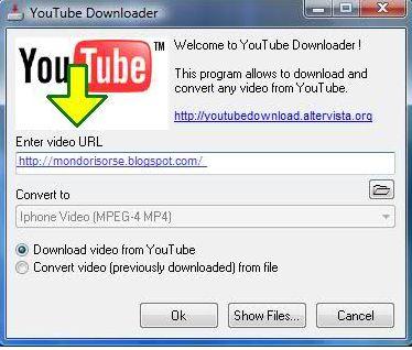 scarica i video da youtube