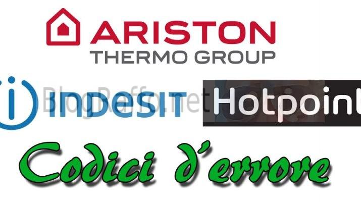 Codici-d'errore-lavastovigie-ariston-hotpoint-indesit