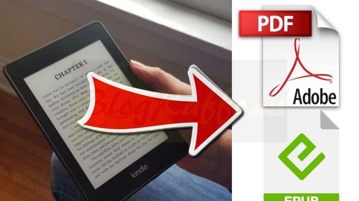 Come convertire libri formato Kindle in formato .pdf o .epub