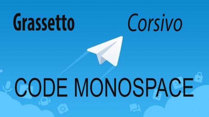 telegram-come-inviare-messaggi-formattati-grassetto-sottolineato-corsivo-code