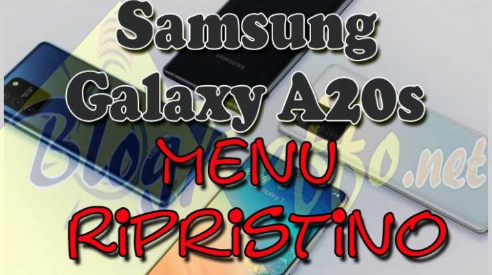 SAMSUNG-A20s-menu-ripristino-recovery
