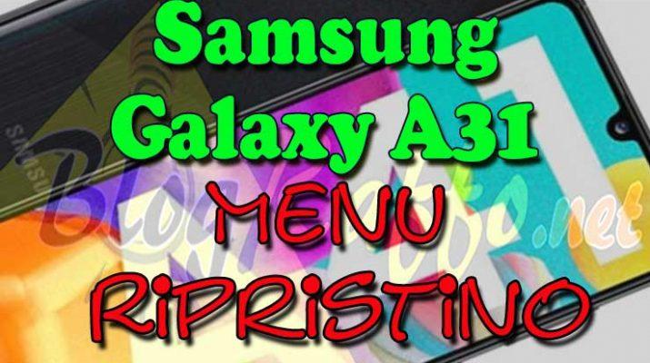 SAMSUNG-Copertina-A31-menu-ripristino