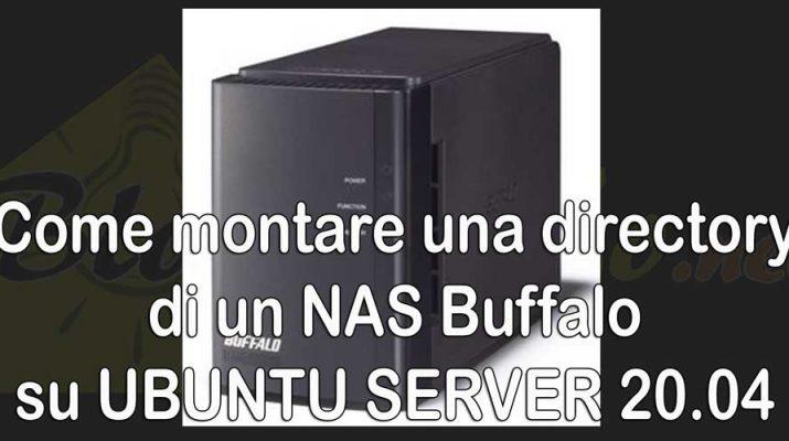 Come-montare-directory-NAS-Buffalo-Ubuntu-server