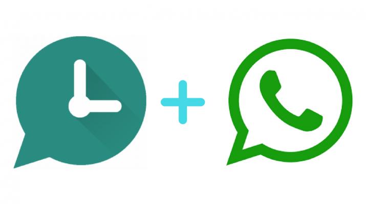 WhatsApp inviare messaggi ad una ora stabilita