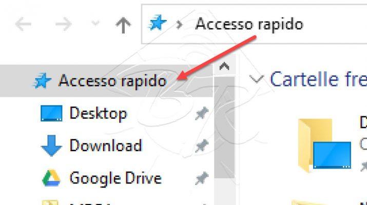 Accesso Rapido Windows 10 - Rimuovere aggiungere personalizzare Files e Cartelle
