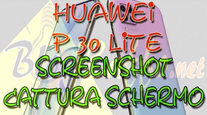 huawei-p30-lite-come-fare-lo-screenshot-catturare-lo-schermo-guida